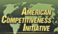 """graphic of a world map with the text """"American Competitiveness Initiative"""" superimposed over it"""
