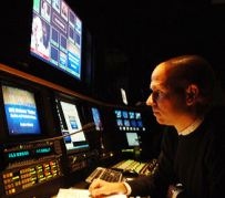 Producer working in the HHS Studio
