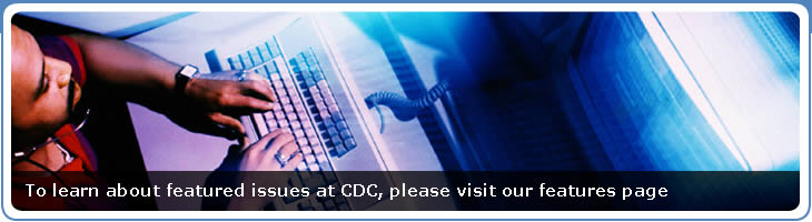To learn about featured issues at CDC, please visit our features page