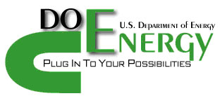 text graphic: U.S. Department of Energy: Plug in to Your Possibilities