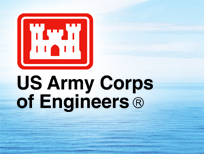 Image of the U.S. Army Corps of Engineers logo.