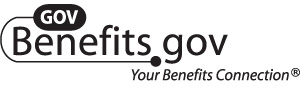 B/W GovBenefits.gov Logo