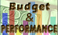 text graphic for Budget & Performance
