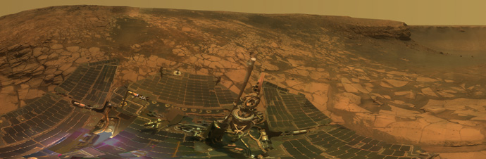 Spirit and Opportunity on Mars