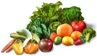 image of many fruits and vegetables