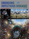 Emerging Infectious Diseases cover graphic