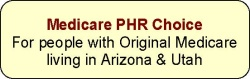 Medicare PHR Choice Button