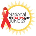 Logo for National HIV Testing Day.