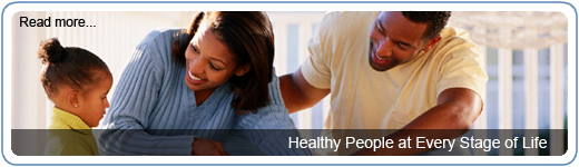 •Gente sana en cada etapa de la vida .