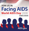 Join us in Facing AIDS, World AIDS Day 2008