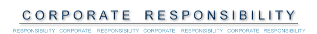 Banner - Corporate Responsibility