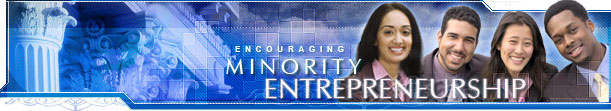 Encouraging Minority Entrepreneurship Front Page