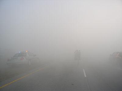 smokey road conditions