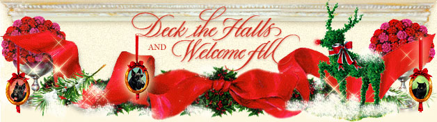 Link to Deck the Halls and Welcome All Front Page