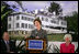 Mrs. Laura Bush delivers remarks, Monday, April 24, 2006, during a visit to The Mount Estate and Gardens, home of author Edith Wharton and a 2005 Preserve America Presidential Award recipient, in Lenox, Mass. White House photo by Shealah Craighead