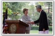 Link to Mrs. Bush's 2008 Afghanistan Visit