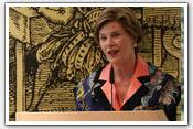 Link to Mrs. Bush's Europe Trip 2008