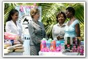 Link to Mrs. Bush's 2008 Haiti Visit
