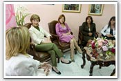 Link to Mrs. Bush's Panama and Peru Trip, 2008