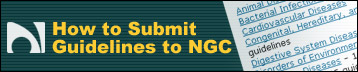 How to Submit Guidelines to NGC