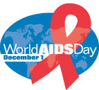 Logo of World AIDS Day