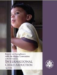 2008 Hague Abduction Convention Compliance Report
