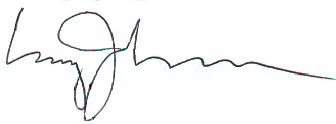 Signature of Clay Johnson