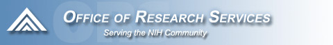 Office of Research Services logo image