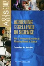 AXXS 2002, Role of Professional Societies in Advancing Women in Science