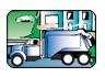 Tox Town Trash truck - 96X70 pixels - 4 KB