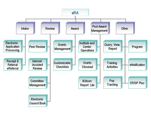 Chart showing Services for Grantor Agencies