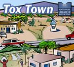 US-Mexico Border scene with logos - 150X136 pixels - 15 KB
