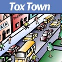 Tox Town portion of City scene - 125X125 pixels - 9 KB