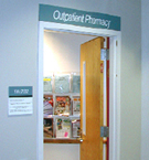 Photo of outpatient pharmacy