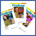 Image of Findings magazine covers.