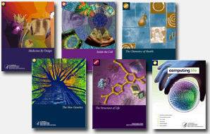 Image of science education booklet covers.