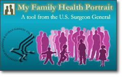 My Family Health Portrait logo