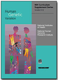 Supplement cover page for 'Human Genetic Variation'