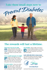 Two Reasons to Prevent Diabetes Poster