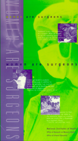 This is a picture of the Women are Surgeons poster.