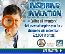 """USPTO, NIHFF and the Ad Council Launch """"Inspiring Invention"""" PSA Contest"""