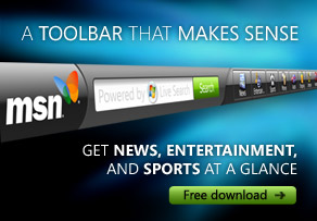 Download the new MSN Toolbar for free