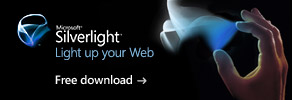 Install Silverlight 2 now for an enhanced Web experience