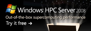 Get a 180-day trial of the latest version of Windows HPC Server 2008