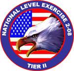National Level Exercise 2-08 Logo