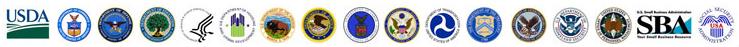 Logotipos de las agencias