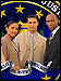FBI Investigators with FBI seal in the background