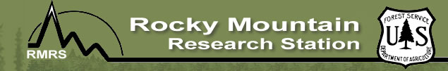 Congressional Notebook - Rocky Mountain Research Station - RMRS - US Forest Service