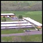 Aerial Shot of Poolesville Animal Care Facility.