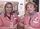 Photo of hospital volunteers